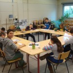 Sint-Margaretaschool 5B - Kappen in iton 2013-2014